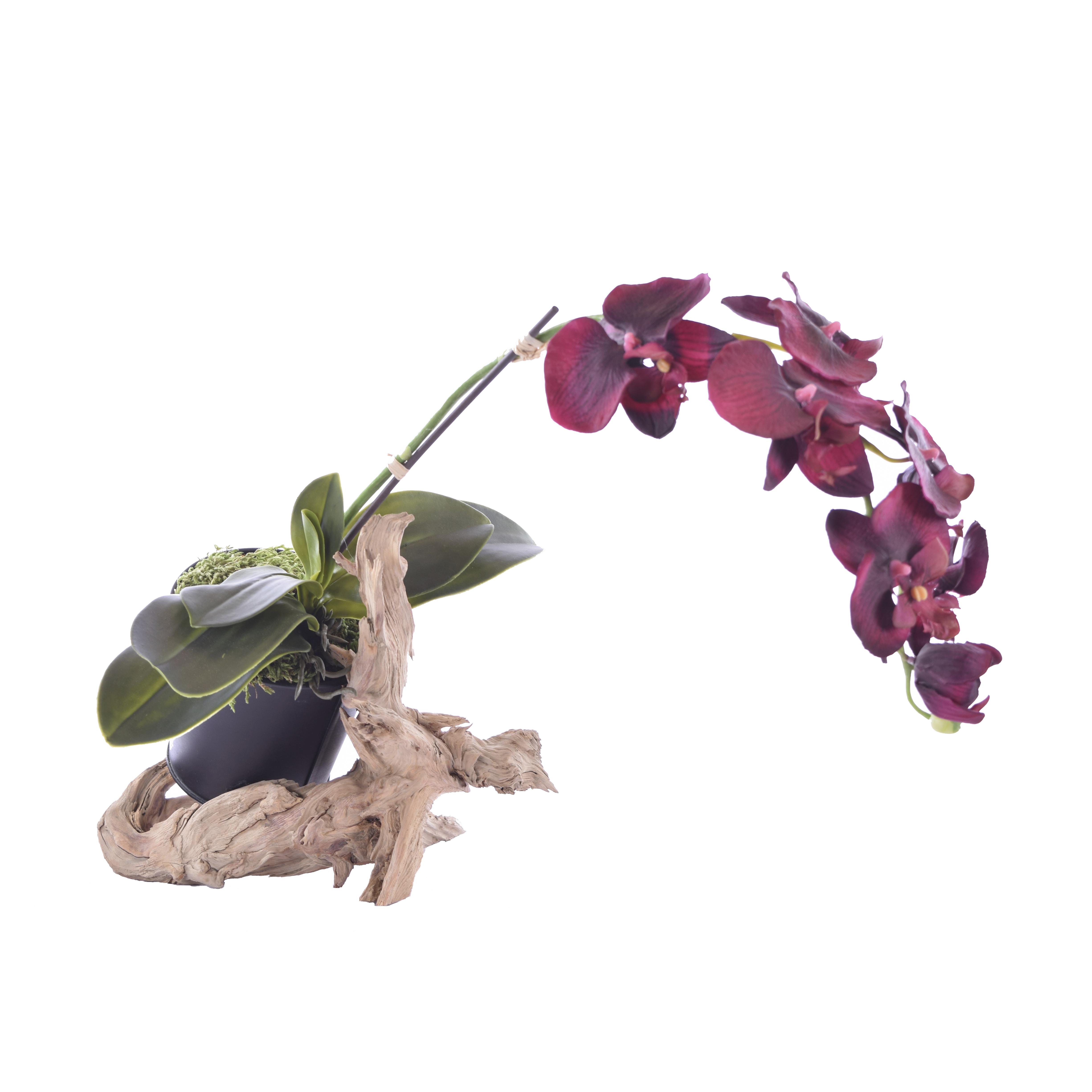 support floral posé