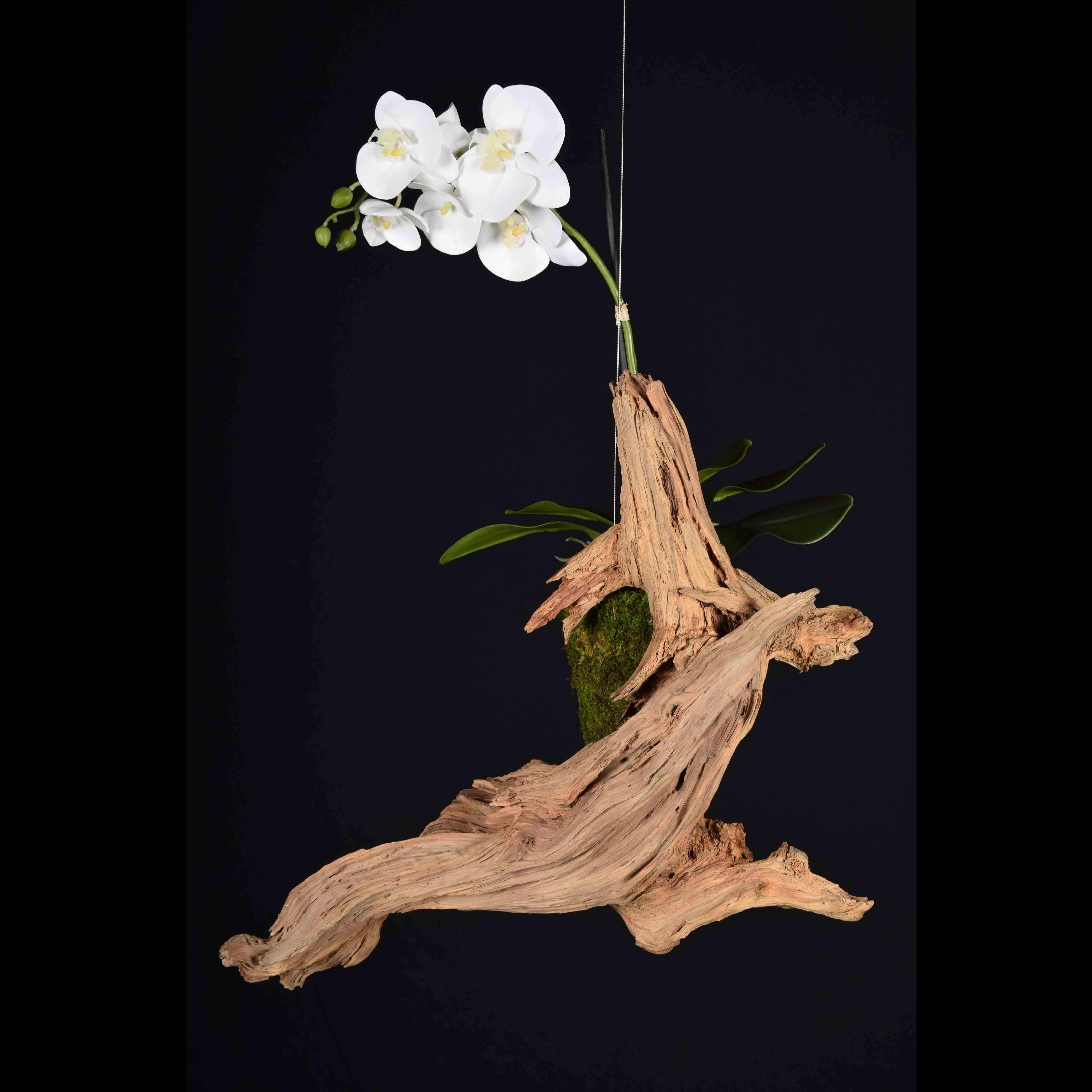 support floral suspendu tango